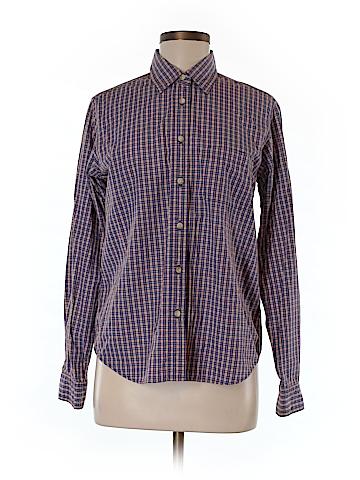 Bkle Long Sleeve Button-Down Shirt Size M
