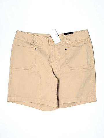 Lane Bryant Khaki Shorts Size 14