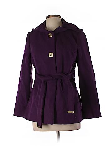 Diane von Furstenberg Wool Coat Size 10
