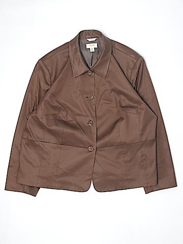 Talbots Silk Blazer Size 24 (Plus)
