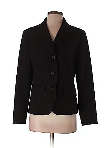 AK Anne Klein Women Wool Blazer Size 8