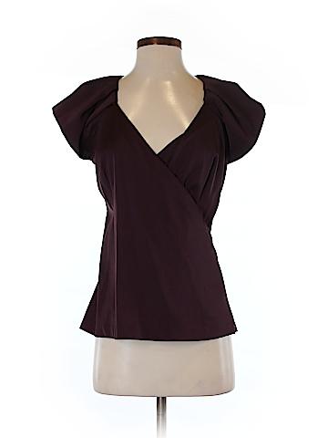 Ann Taylor Short Sleeve Blouse Size 2