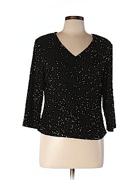 Jkara Long Sleeve Blouse Size L