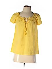 Ann Taylor LOFT Women Short Sleeve Blouse Size XS