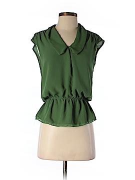 Studio M Short Sleeve Blouse Size S