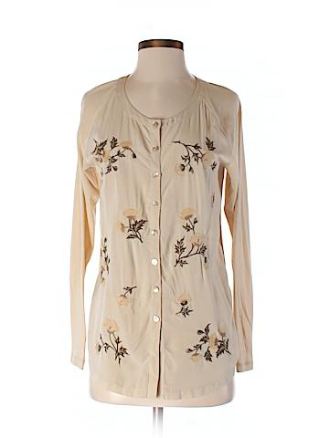 J.jill Women Long Sleeve Blouse Size XS