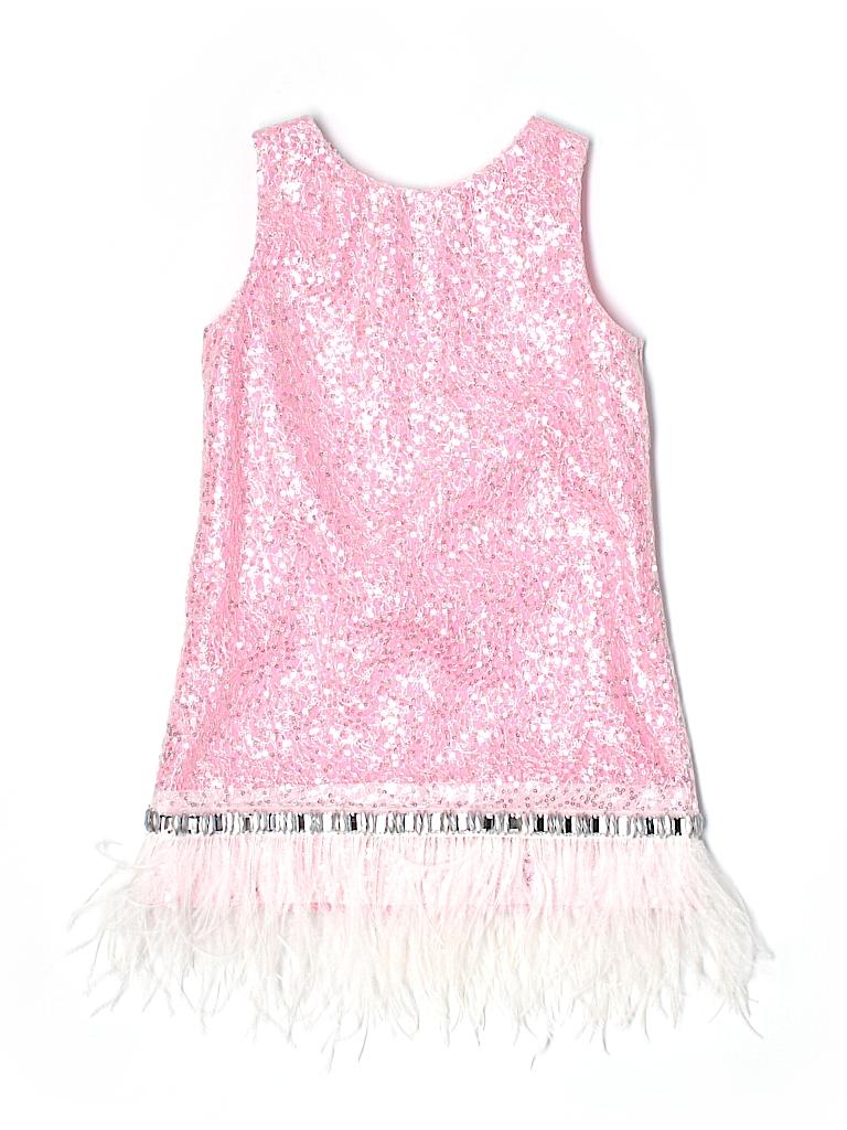 zoe ltd 100 polyester metallic pink special occasion dress size 6x 92 off thredup. Black Bedroom Furniture Sets. Home Design Ideas