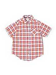 The Children's Place Short Sleeve Button-Down Shirt Size 10/12