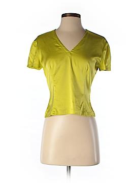 Donna Karan New York Short Sleeve Silk Top Size 4