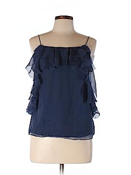 Rebecca Taylor Sleeveless Silk Top Size 10