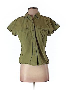 Helly Hansen Short Sleeve Button-Down Shirt Size S