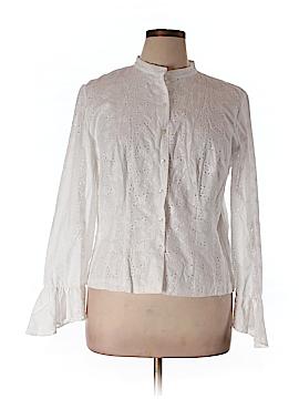Lauren by Ralph Lauren Long Sleeve Blouse Size 16