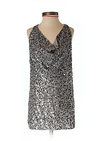 BCBGMAXAZRIA Women Sleeveless Silk Top Size XXS