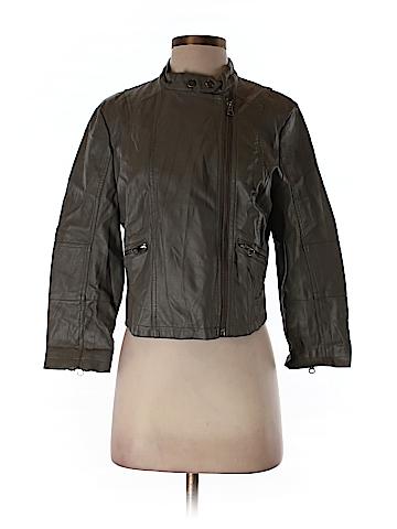 LC Lauren Conrad Faux Leather Jacket Size M