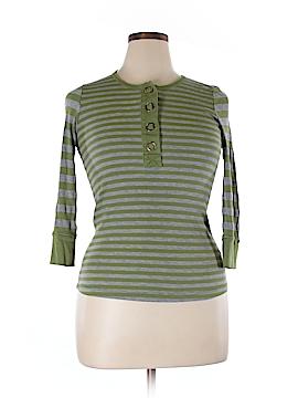 Ella Moss 3/4 Sleeve Henley Size L