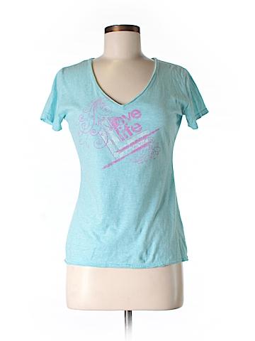 Orange U.S.A. Short Sleeve T-Shirt Size M