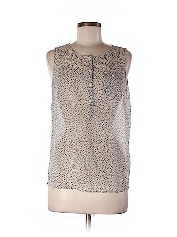 Ann Taylor LOFT Outlet Women Short Sleeve Blouse Size M (Petite)