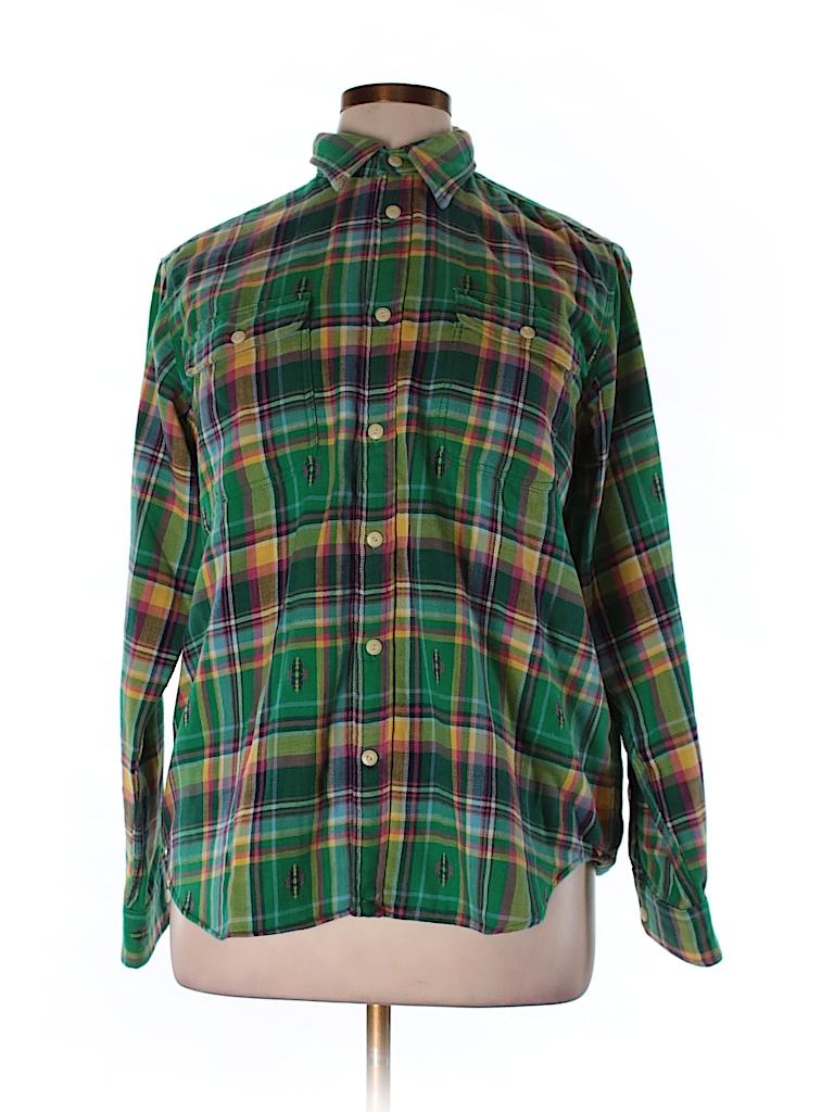 Polo by Ralph Lauren Women Long Sleeve Button-Down Shirt Size XL