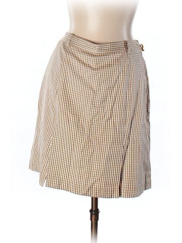 Bobby Chan Silk Skirt Size 10
