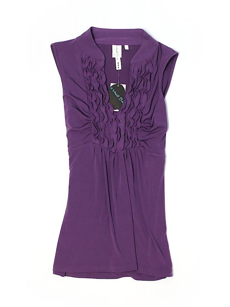 Heart Soul Women Sleeveless Blouse Size XL