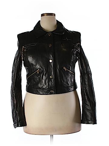Baby Phat Leather Jacket Size XXL