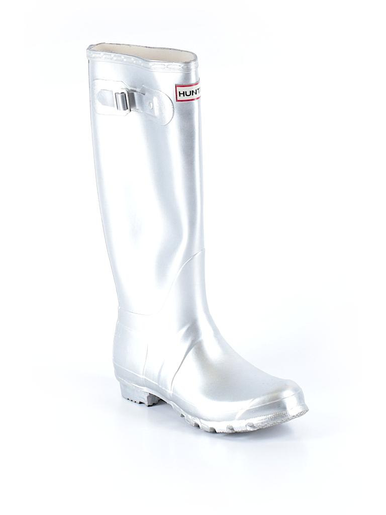 Hunter Women Rain Boots Size 6