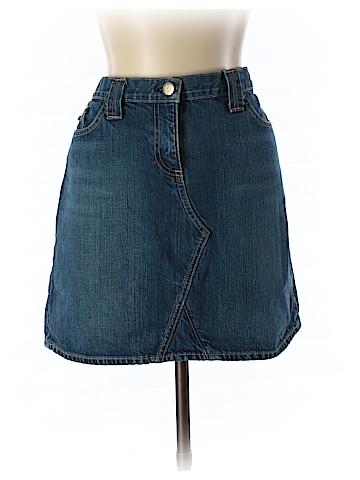 J. Crew Denim Skirt 33 Waist