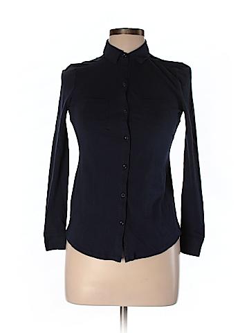 Ann Taylor LOFT Outlet Long Sleeve Button-Down Shirt Size XXS (Petite)