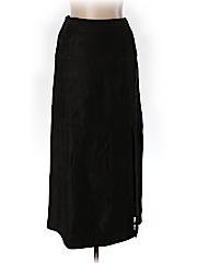 Linda Allard Ellen Tracy Women Leather Skirt Size 6