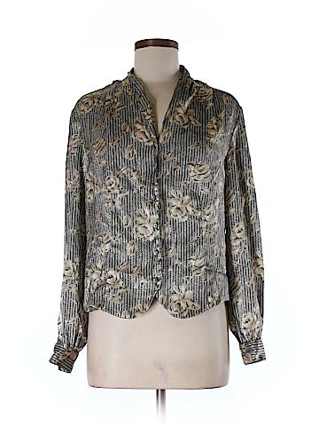 Notations Long Sleeve Button-Down Shirt Size 10