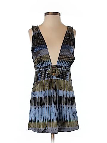 A Common Thread Women Sleeveless Silk Top Size P