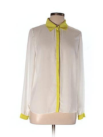 Gianni Bini  Long Sleeve Blouse Size L