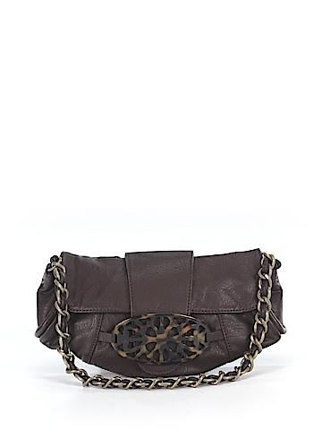 White House Black Market Leather Shoulder Bag One Size