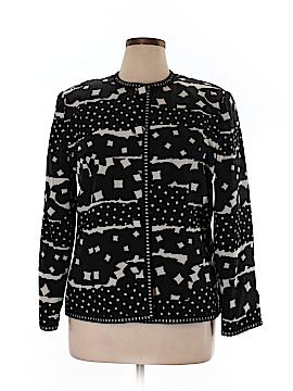 Anne Crimmins for Umi Collection Silk Blazer Size 16
