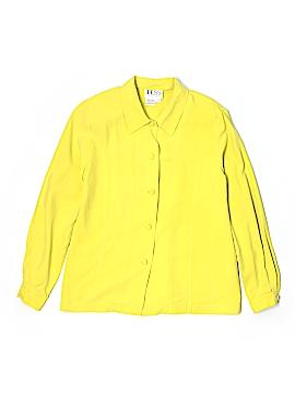 Tess Long Sleeve Silk Top Size 8