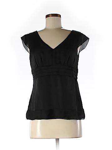 Ann Taylor LOFT Short Sleeve Blouse Size 6