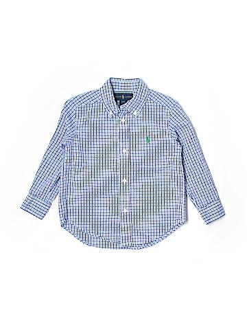 Ralph Lauren Long Sleeve Button-Down Shirt Size 3T