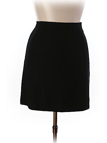 Rena Rowan Women Wool Skirt Size 14