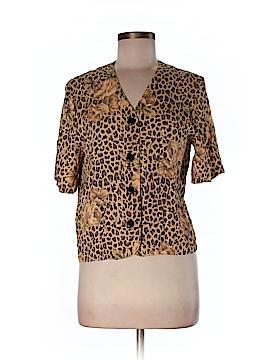 Briggs New York Short Sleeve Blouse Size 4