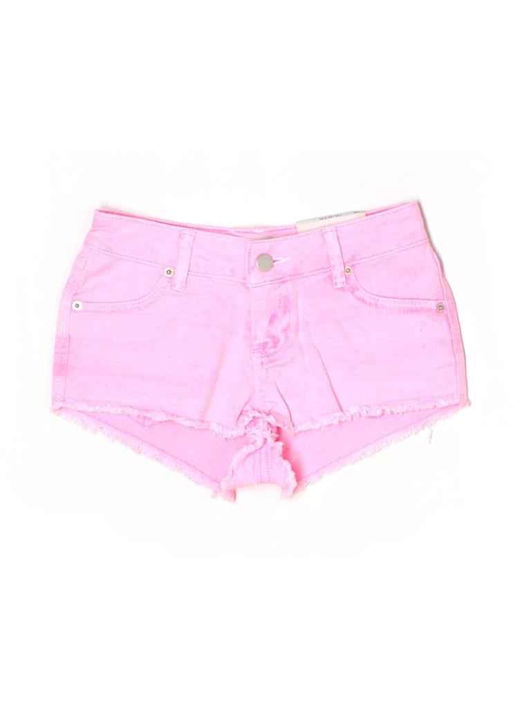 Topshop Women Denim Shorts 25 Waist