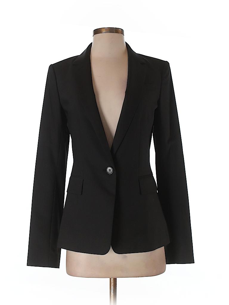 Ann Taylor Women Blazer Size 2 (Tall)