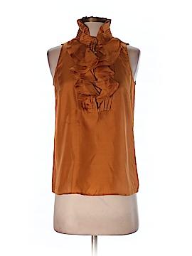 J. Crew Sleeveless Silk Top Size 0