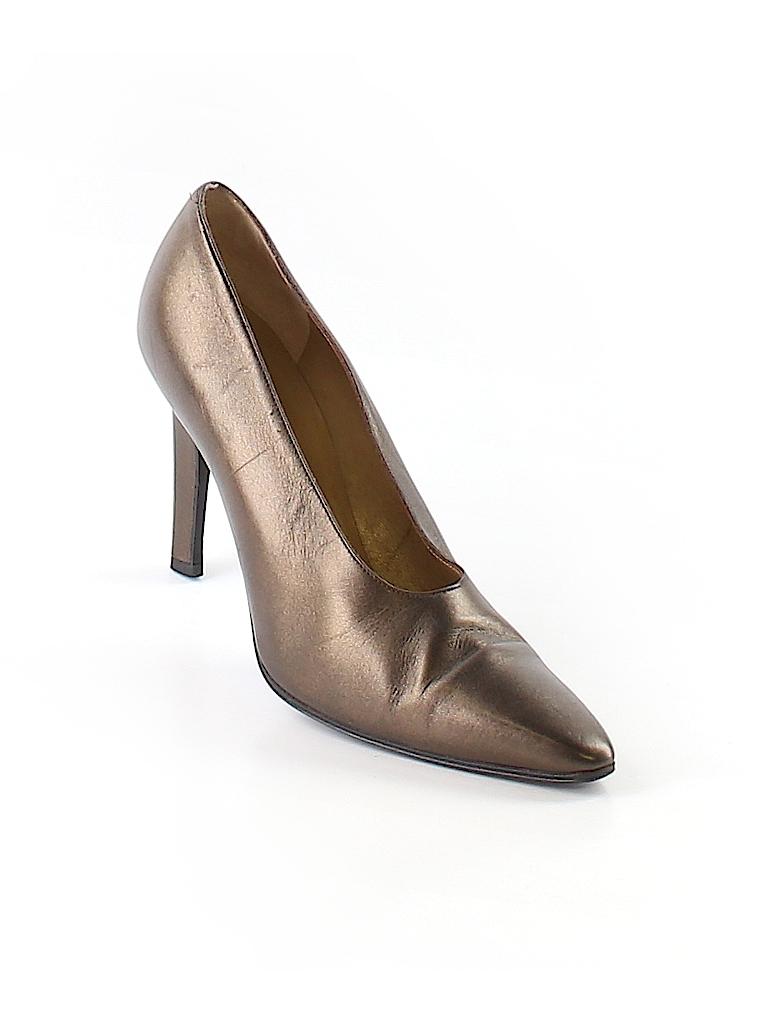 Yves saint laurent metallic brown heels size 8 96 off for Bureau yves saint laurent