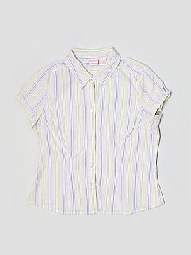 Xhilaration Short Sleeve Button-Down Shirt Size XL