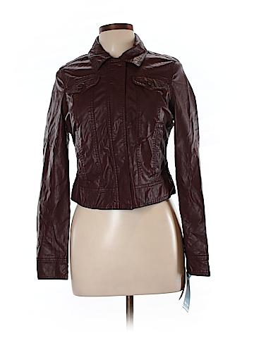 Indigo Saints Faux Leather Jacket Size L
