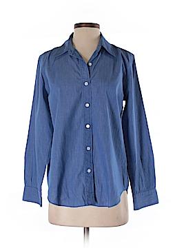 DKNY Long Sleeve Button-Down Shirt Size 6