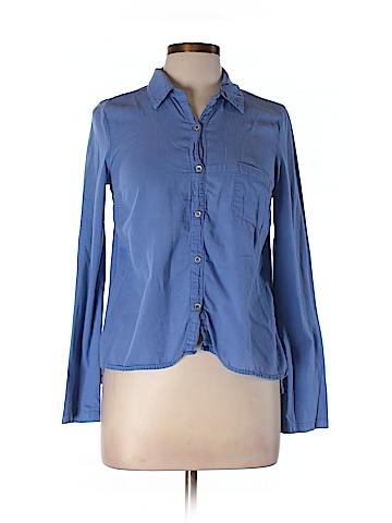 Splendid Women Long Sleeve Button-Down Shirt Size M