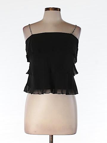 INC International Concepts Women Sleeveless Silk Top Size 6 (Petite)