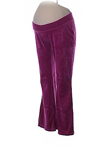 Motherhood Velour Pants Size L (Maternity)