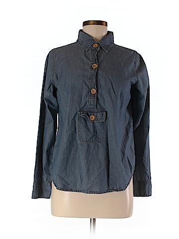 Calypso St. Barth Long Sleeve Button-Down Shirt Size XS